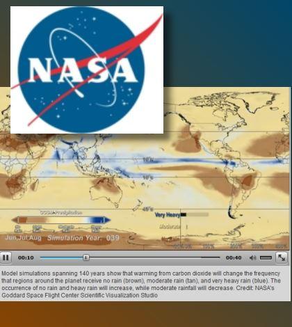 NASA - Rainfall simulation