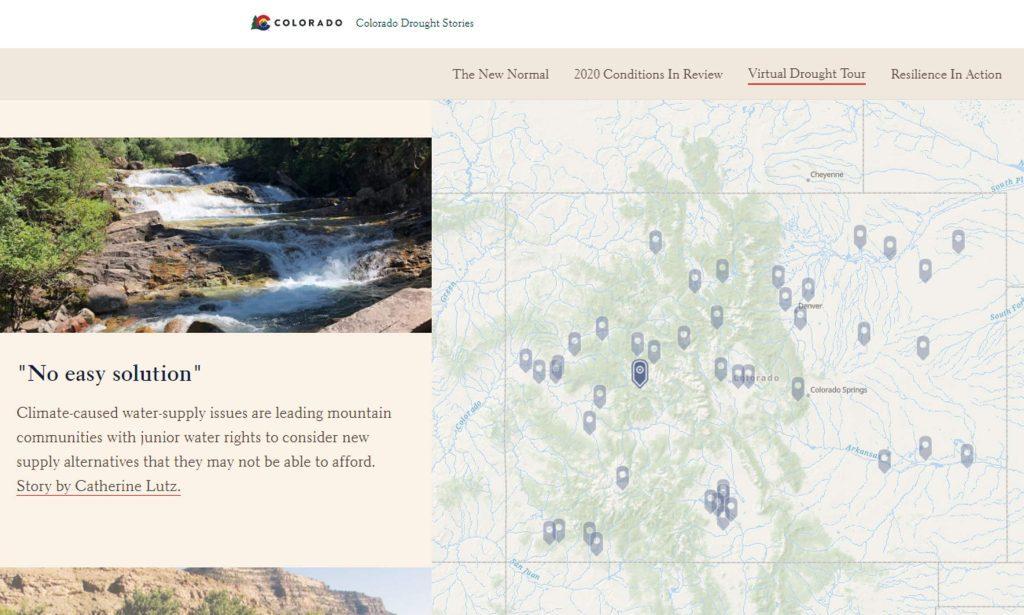 Colorado Virtual Drought Tour