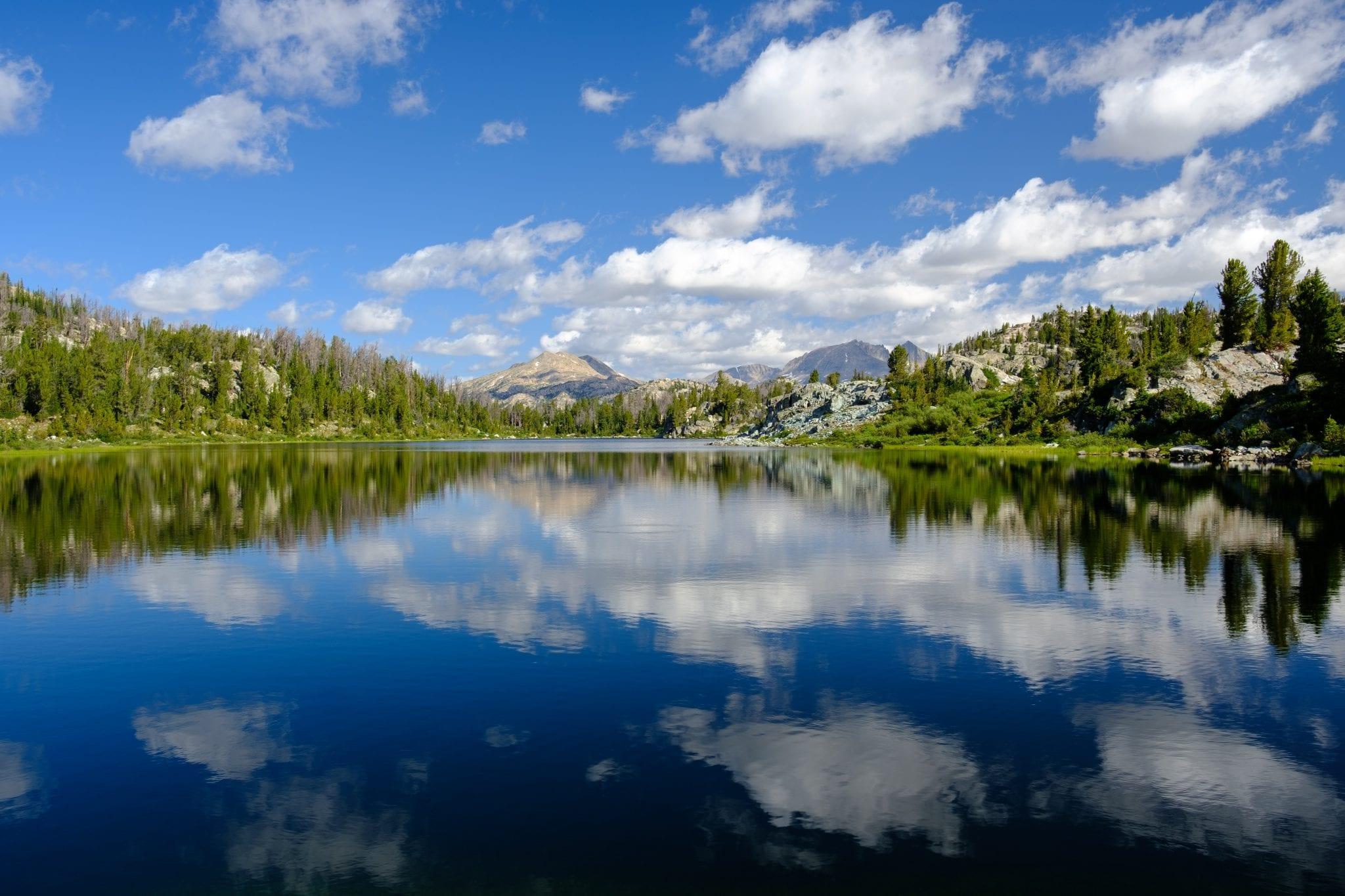 Wyoming water scene