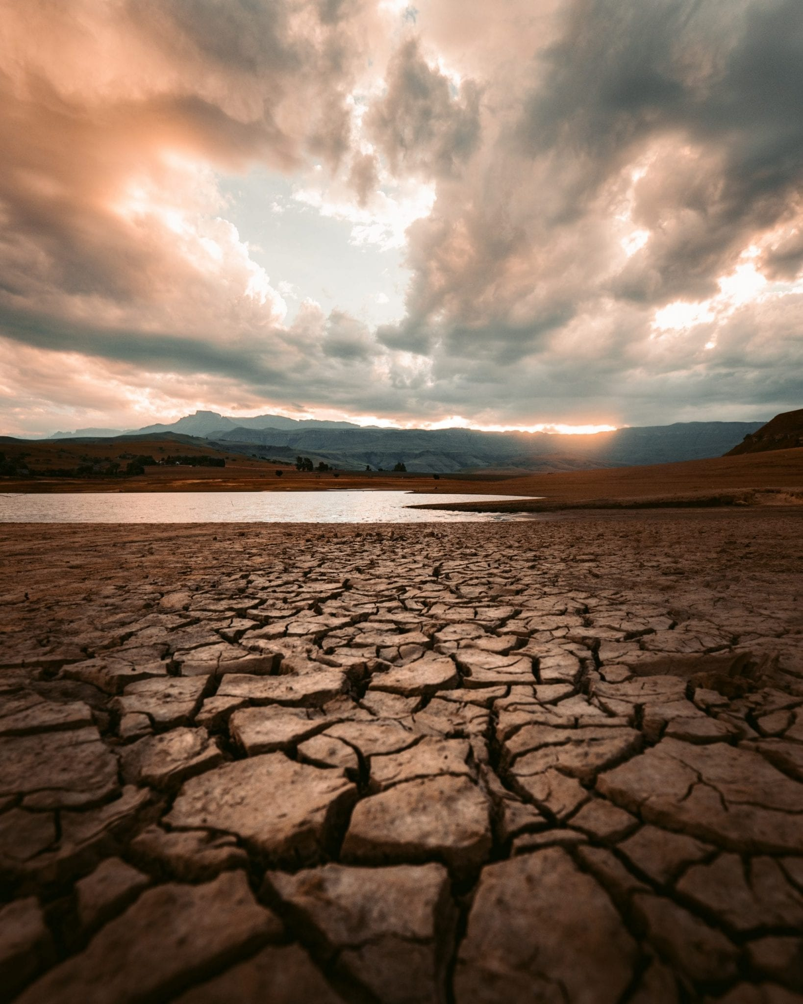 low reservoir and drought