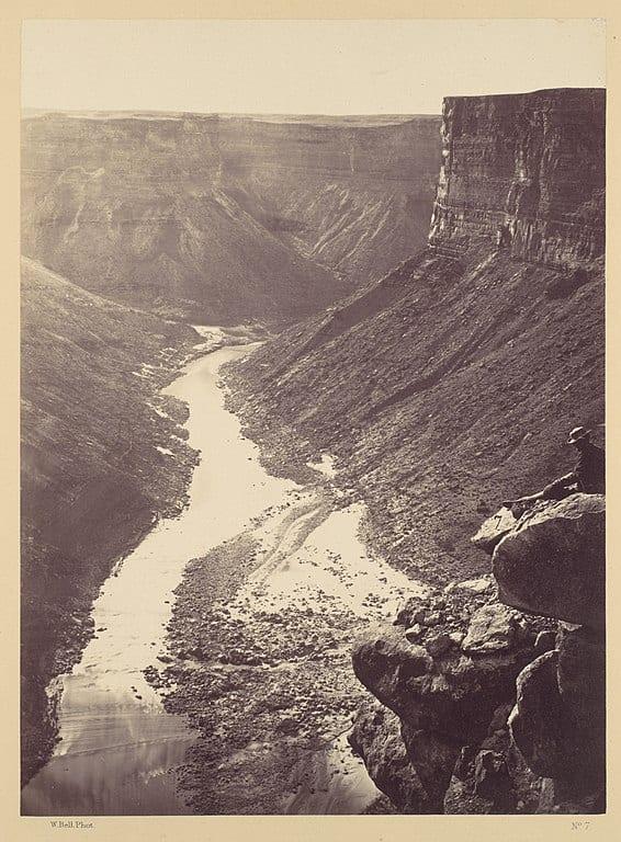 Colorado River, Grand Canyon (1872)