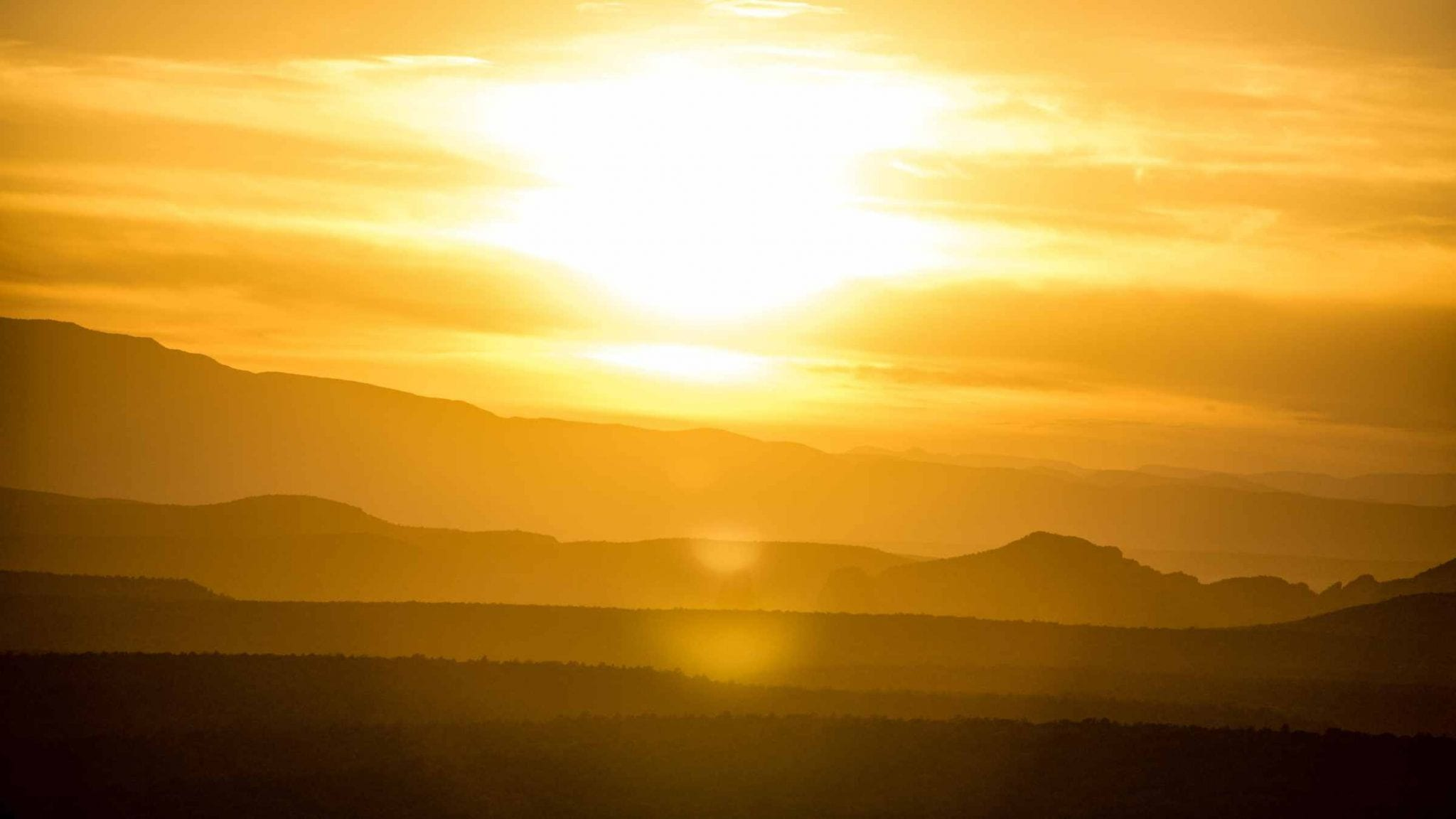 Hot Sun - New climate normals mean hotter, drier conditions for Western states.