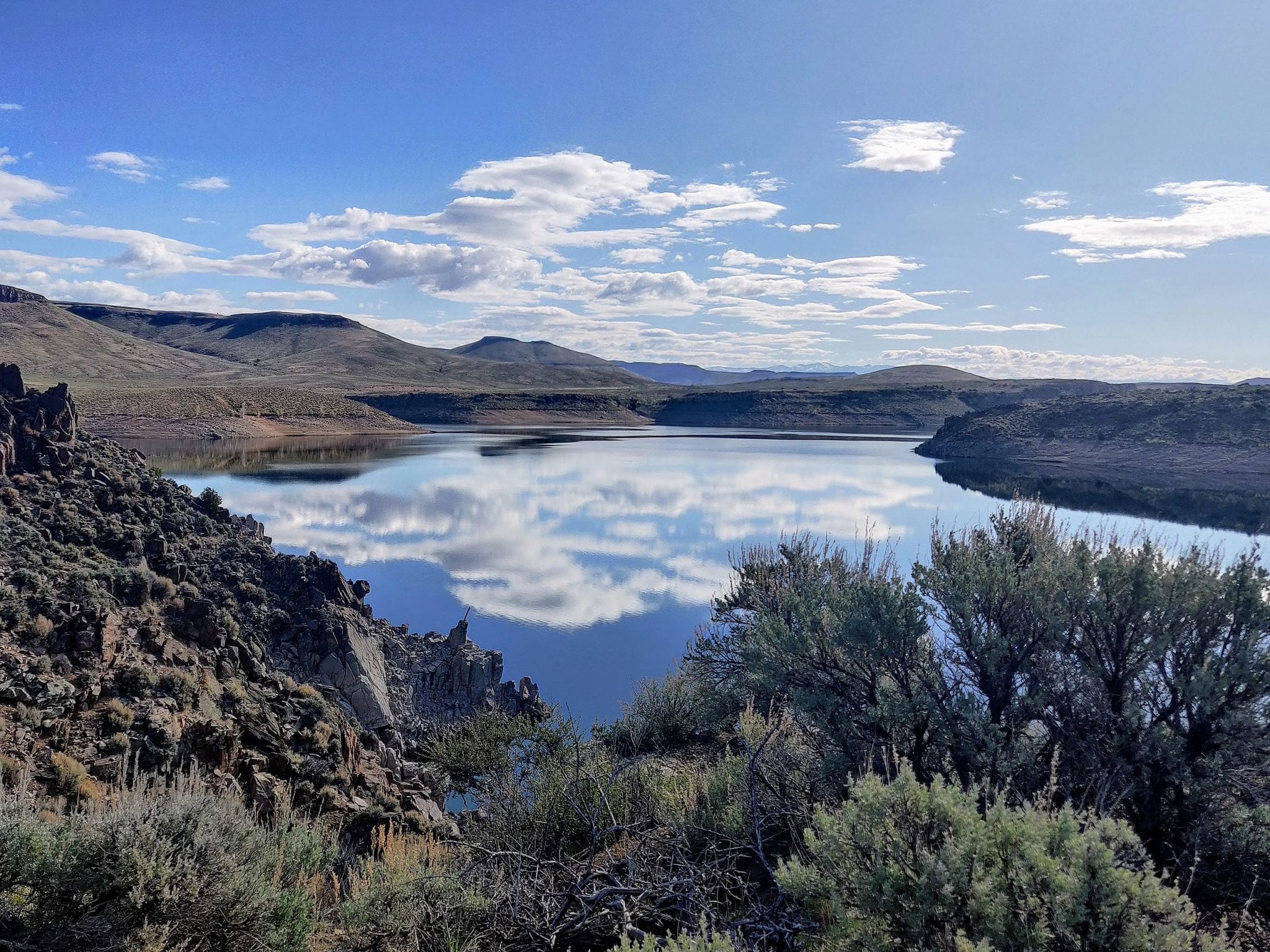 Blue Mesa Reservoir is one of three upper basin reservoirs scheduled to release additional water into the Colorado River system.