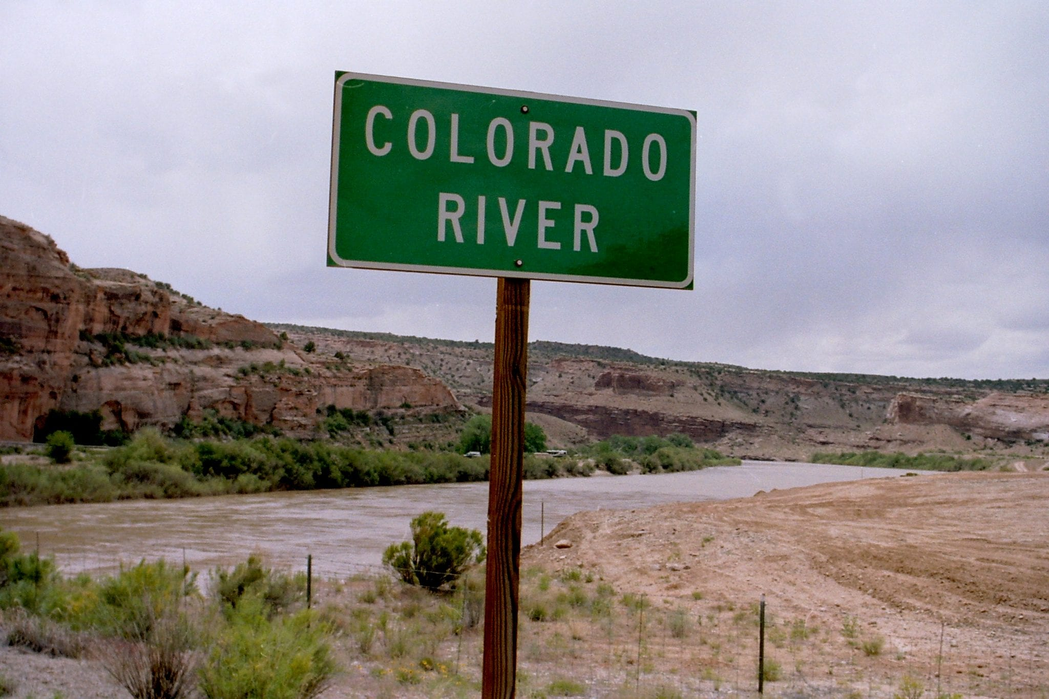 Colorado River near Moab, Utah   Members of the Great Basin Water Network are calling for moratoriums on new developments using Colorado River diversions.