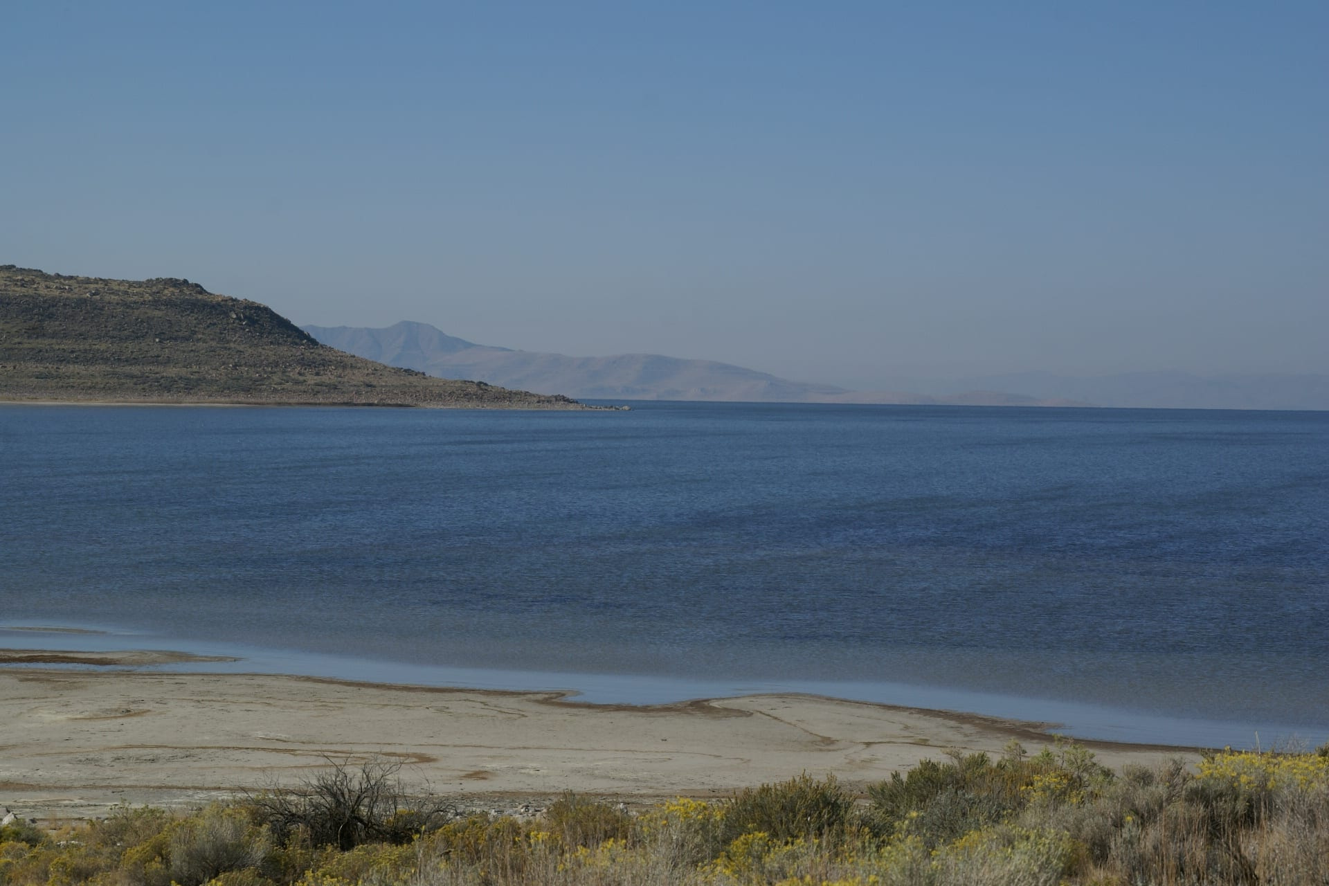 The Great Salt Lake is drying up.