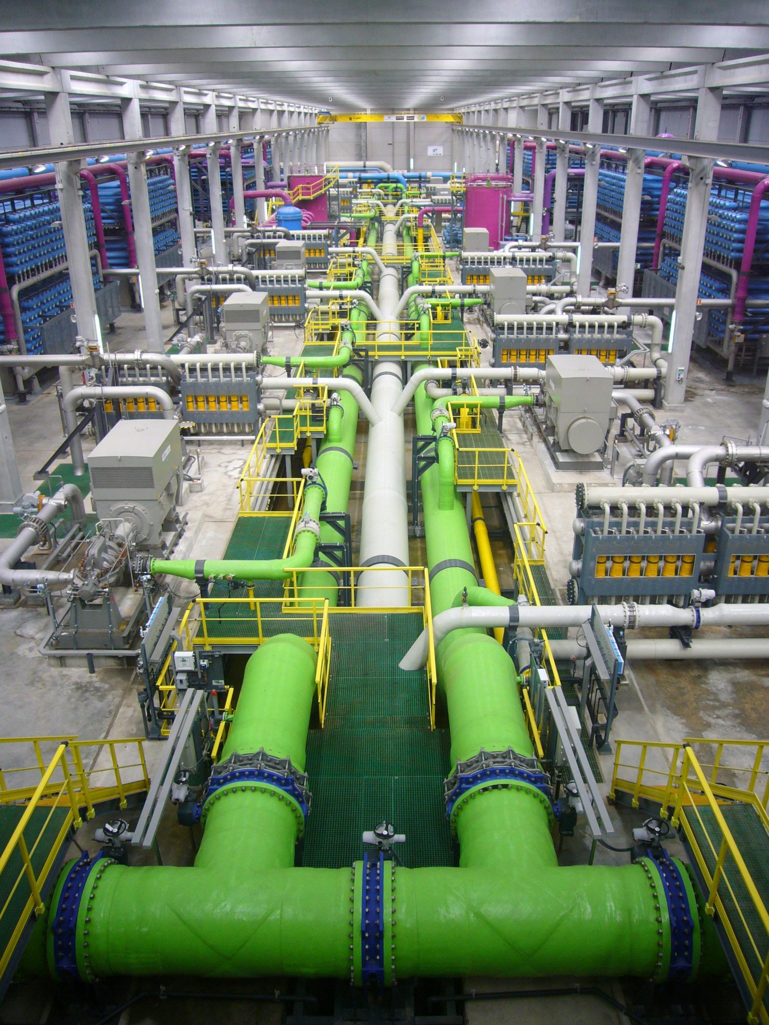 The Desalination Development Act will help fund desalination projects such as the one pictured here.